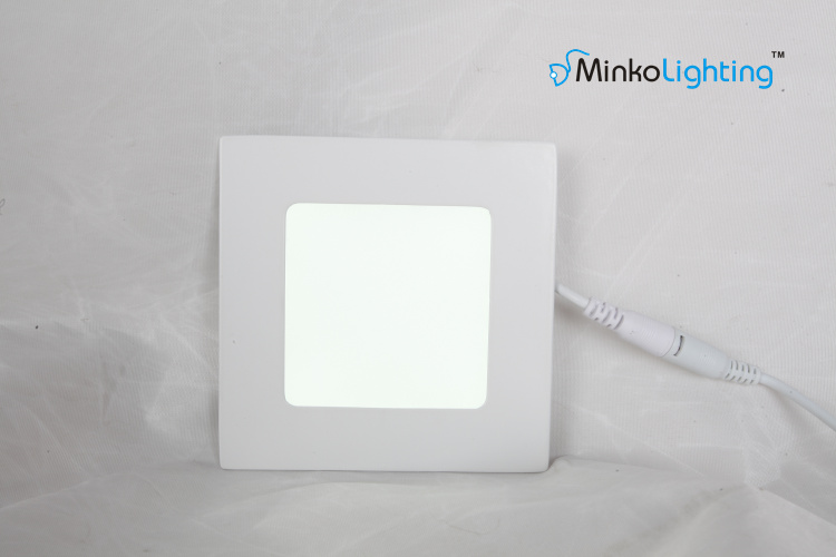 9W embedded SMD2835 led panel light square