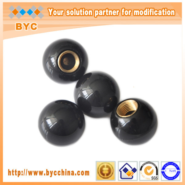 BYC Special Car Accessories Customize Logo Black Ball Car Tire Valve Cap