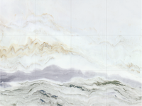 Ink landscape china 2mX3m big size marble tile for wall floor
