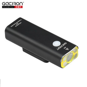 Supplier Gaciron 400Lumen Professional Waterproof CREE LED Bike Cycling Light Front Lamp Bicycle Headlight