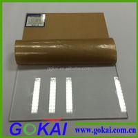 Gokai free samples supply!!! Competitive designer acrylic plastic sheet price