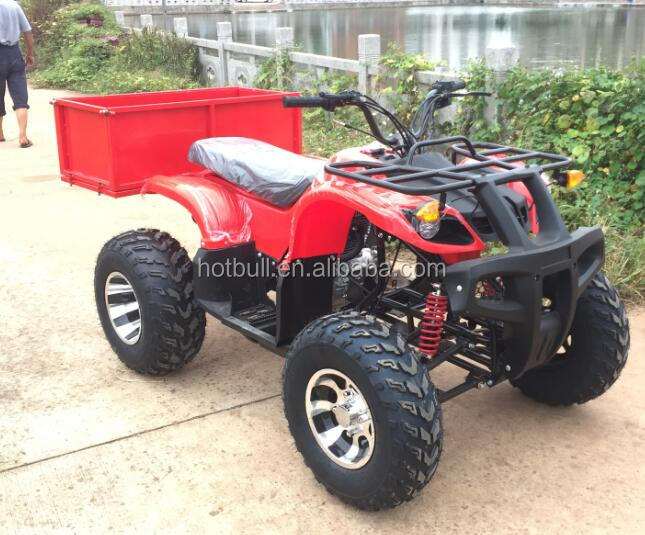 new style four wheels 150cc farm quad atv with trailer