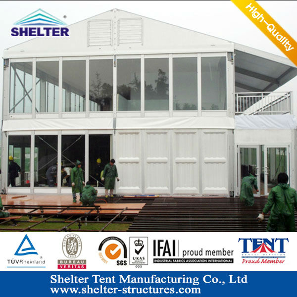 Interest Thing Special double Two Floors Outdoor Party Tents easy to set up strong&stable