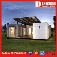Well Designed Prefabricated House - sandwich panel one bedroom prefab house