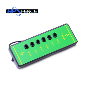 China manufacturer electric fence 1000V-6000V plastic ranch six-light voltage tester for fence