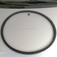 Taiwan factory customized NBR / EPDM / Silicone rubber mechanical equipment high quality big seal rubber gasket.