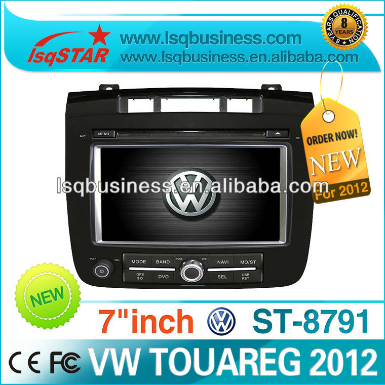 VW Touareg 2012 with MP3 player GPS TV MP4 fm Radio DVD Bluetooth,ST-8791