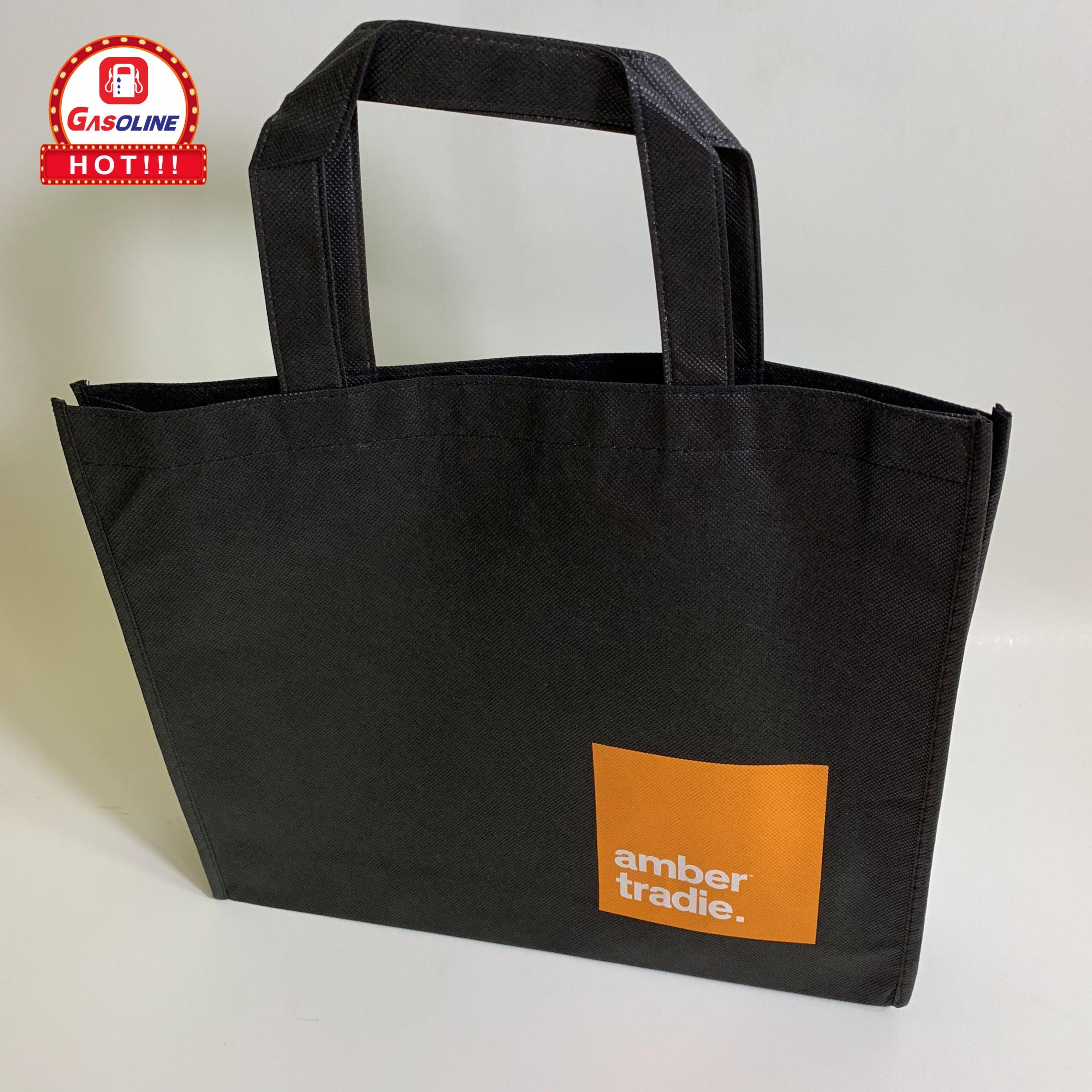 Custom Zeefdruk Logo Promotionele Non-woven Carry tote Bag
