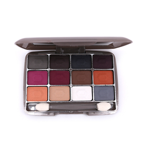 Wholesale 12 Color Glitter Eyeshadow Mini Kit Makeup Cosmetics Palette