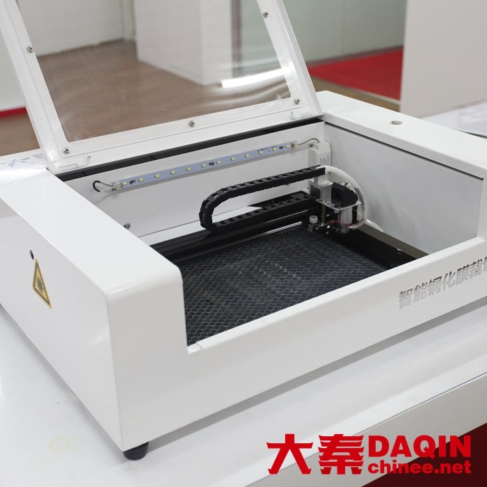 newest laser cutting machine for antishock tempered glass daqin