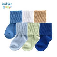 6pair lot Free shipping Luvable Friends 0 2years Anti slip baby socks boys and girls socks