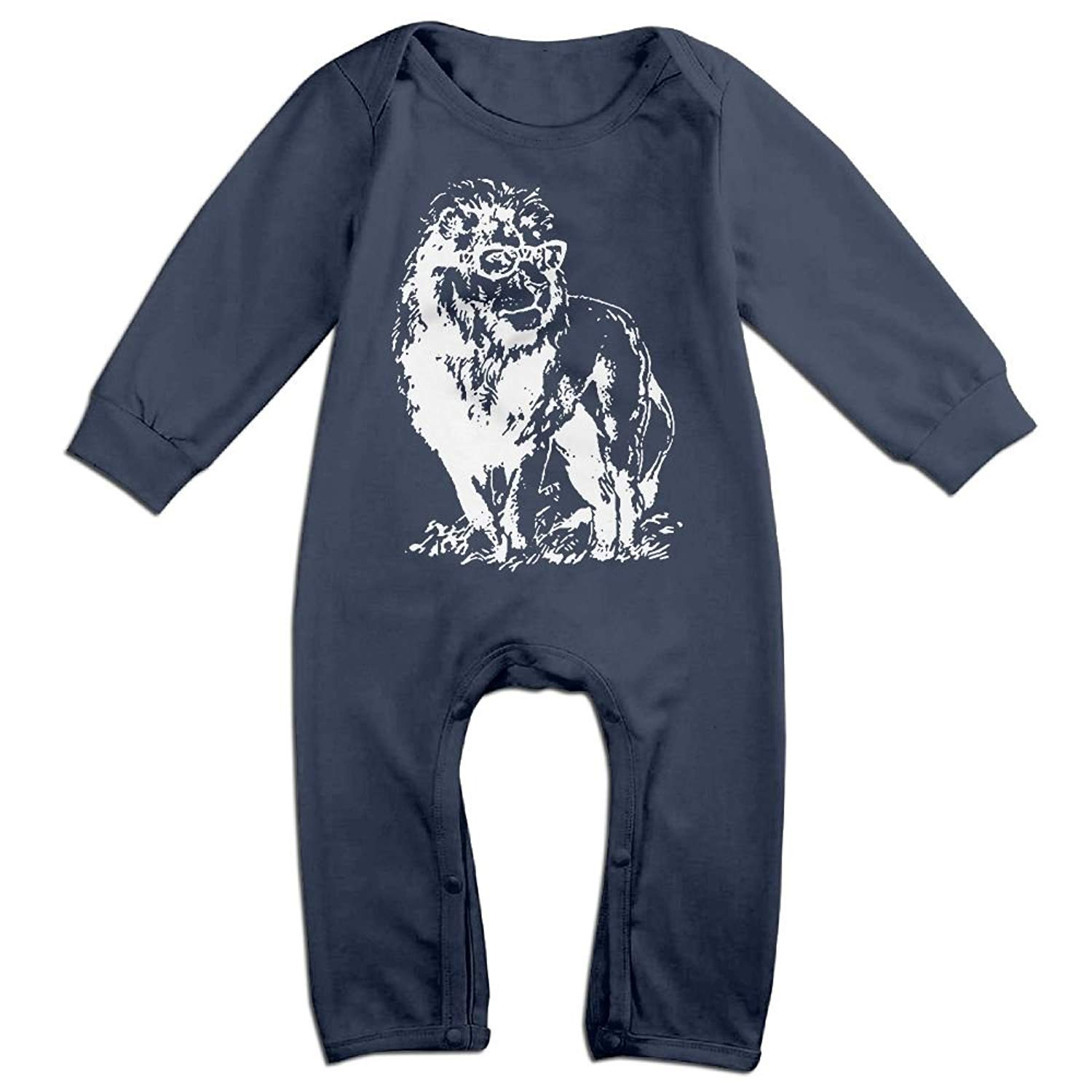 UGFGF-S3 Bulldog Newborn Kids Long Sleeve Bodysuit Kid Pajamas