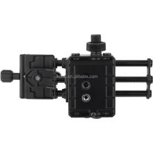 China Zhongshan factory Kingjoy Ultra Slim Travel Slider Mini Camera Track Slider for DSLR Camcorder VM-10
