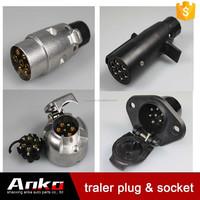 7 way flat pin to 4 way flat trailer light wiring plug buy 7 pin european n 7 pin trailer plug wiring diagram aluminum plug n 7 pin