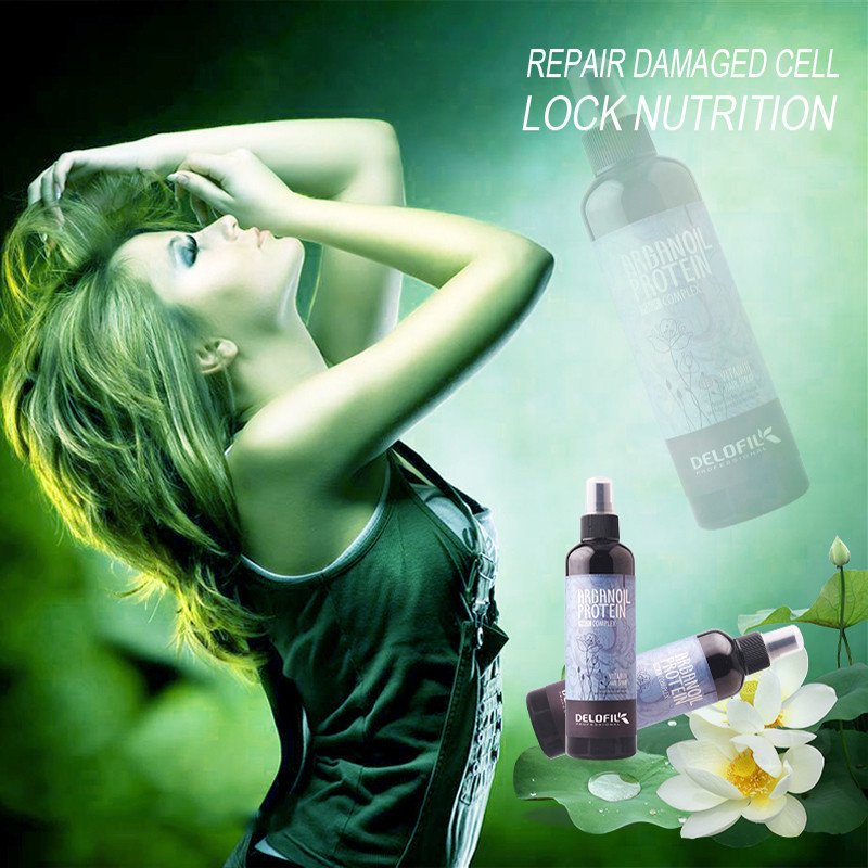 Delofil guangzhou manufacturer easy to comb refreshing 260ml color hair spray