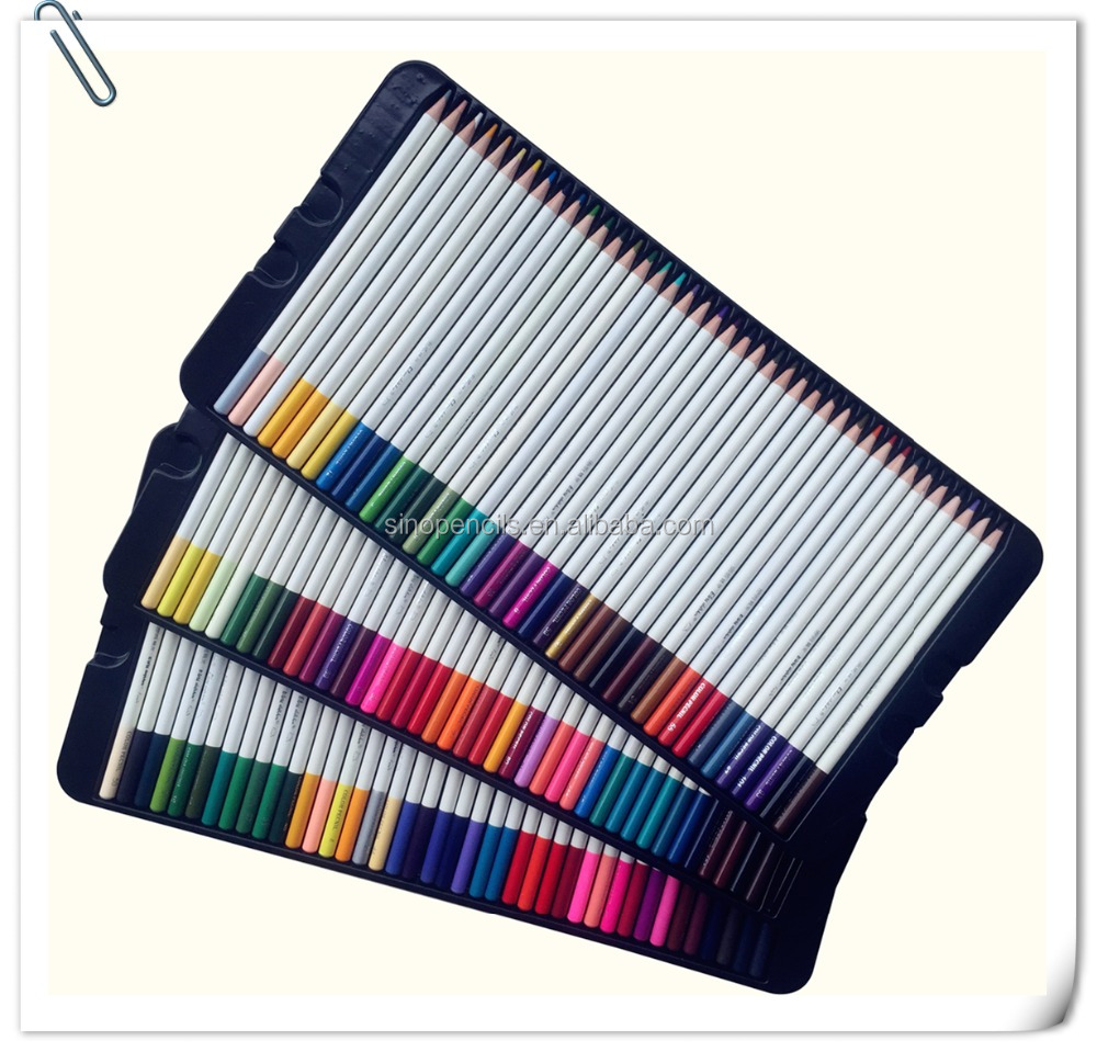 Pentel Arts Color Pencils Assorted Rainbow Colors CB8-24 24 Pack