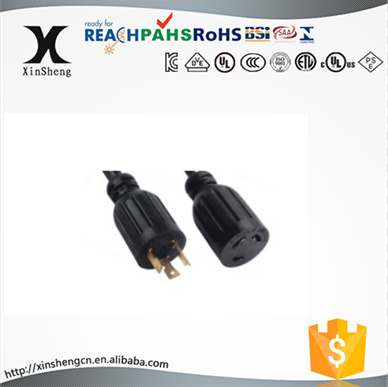 ul plug extension cord 30a power cord used for home appliance