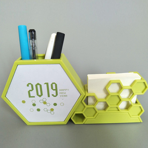 Custom Plastic Desk Calendar with logo