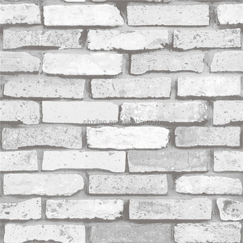 White brick pvc wallpaper 3d washable wallpaper buy 3d for White washable wallpaper