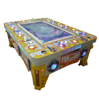 Best Profit Fish Game Machine Golden Conquest With Bill Acceptor