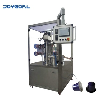 high speed rotary type coffee powder filling sealing machine price for K-Cup or Nespresso