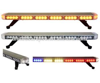 Online Sale Free Shipping vehicle strobe light bar led warning light bar auto strobe lightbar car roof mount led strobe lightbar
