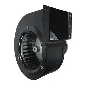 Direct-Drive Centrifugal Blower fans with Drive Package: 1875 RPM Max Speed, 12 V DC Volt, 5.1 A Current, 4 1/2 in Inlet Dia