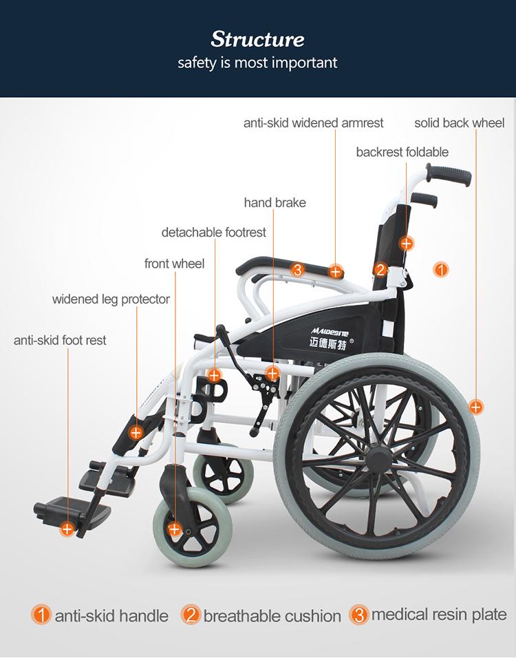 Maidesite portable semi-reclining wheelchair in pakistan  sc 1 st  Alibaba & Maidesite Portable Semi-reclining Wheelchair In Pakistan - Buy ... islam-shia.org