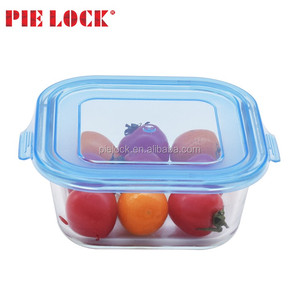Food warmer glass modern tiffin box/ glass food storage container