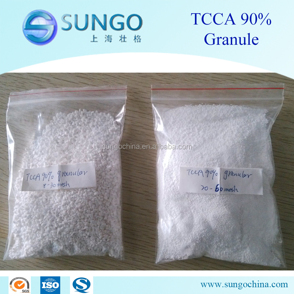 Trichloroisocyanuric acid TCCA 90% granule for swimming pool disinfectant