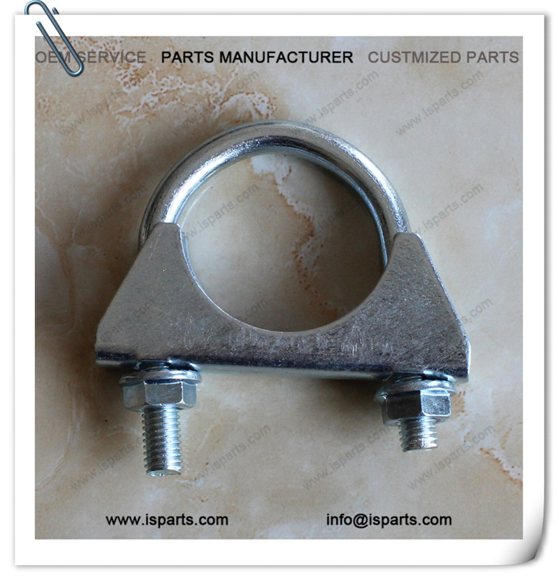 Motorcycle Exhaust Pipe Clamp Scooter Quad Clamp 42mm