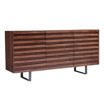 Modern Stripe Design Kitchen Cabinet Wooden Sideboard - Buy Wooden  Cabinet,Kitchen Cabinet Modern,Walnut Furniture Sideboard Product on  Alibaba.com