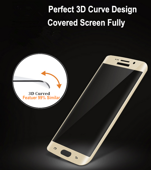 S8 Sehr einfache Installation 3D Curved Full Cover Screen Protector für Samsung Galaxy S8 S8 Plus mobiles Zubehör