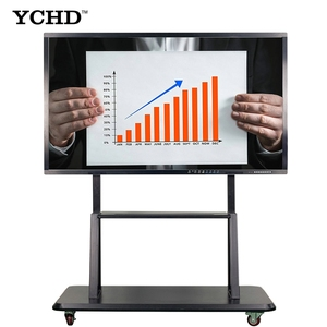 lcd touch screen all in one pc computer electronic interactive whiteboard smart board 50 inch for conference meeting rooms