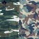 100% polyester camouflage design printed military fleece fabric