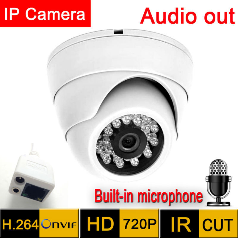 Mini Ip Camera 1280*720 HD Microphone Audio Output Security Indoor Demo Night