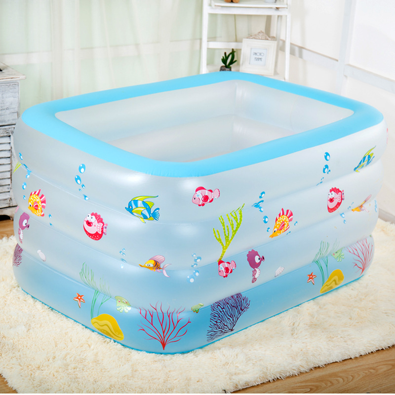 New Arrival Baby Inflatable Family Swimming Pool Toy Ocean Pool for Kids