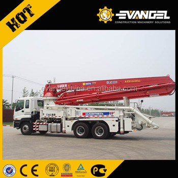 Chinese XCM brand New 37m concrete pump mixer truck