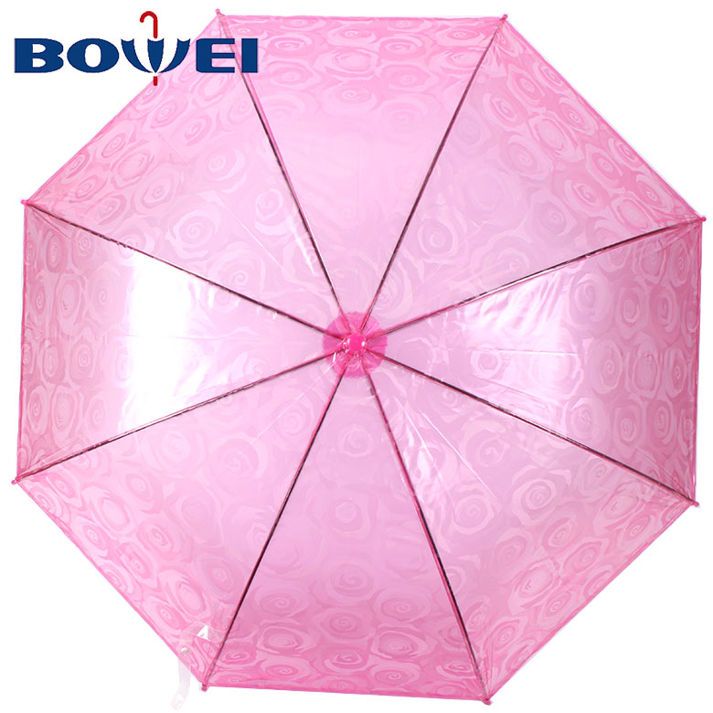 OEM service high quality automatic poe material flower 3d printing umbrella
