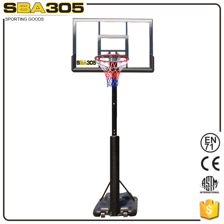 steel basketball portable goal system