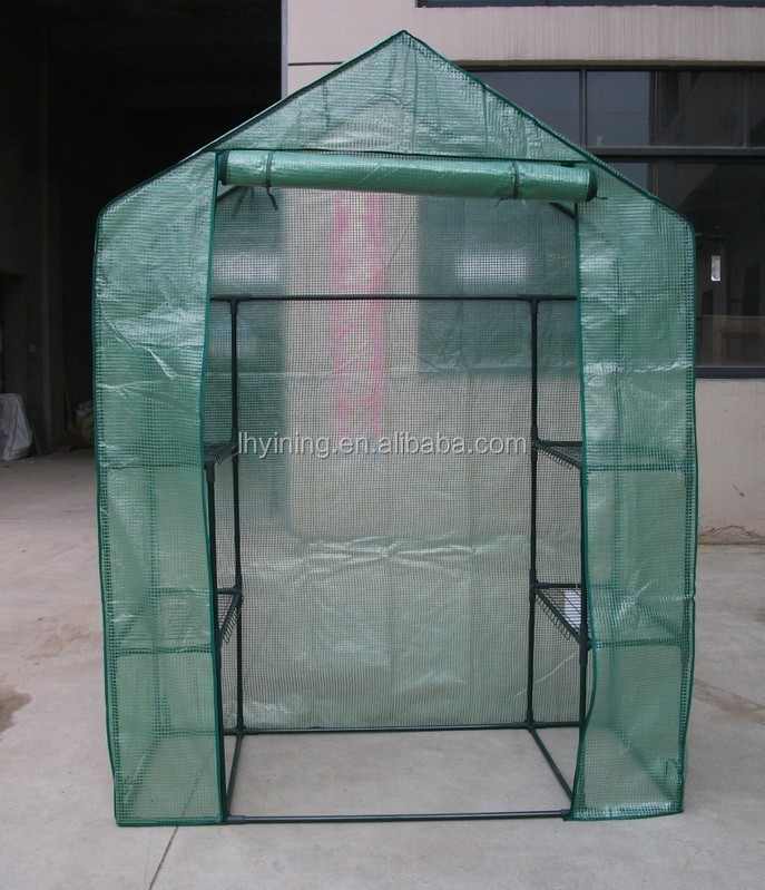 2610005 easy set up green house plant grow tent plastic green house