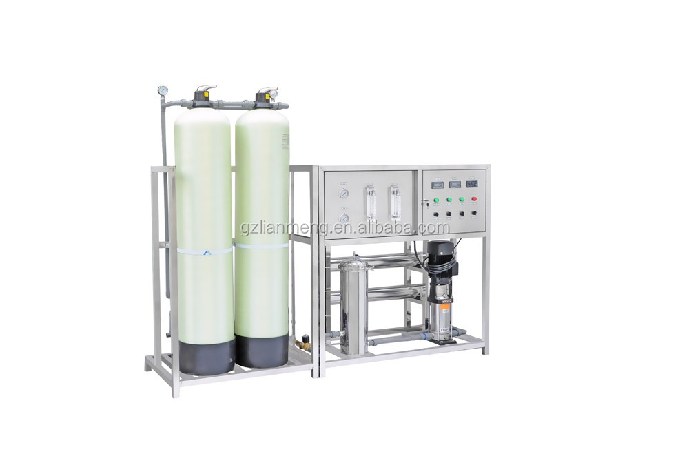 LM-RO-A Semi automatic glass fiber one stage reverse osmosis water treatment