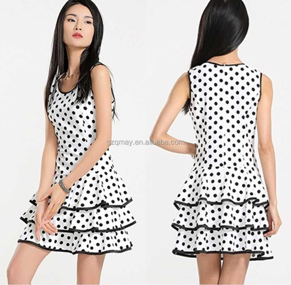 ... batik Summer Dress Casual pour les femmes / gros robe d'été pour les