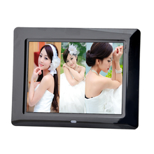 "Hot Digital Photo Frame 8"" HD TFT-LCD Digital Picture Frame Calendar Mode Alarm Clock MP3 MP4 Movie Player with Remote Desktop"