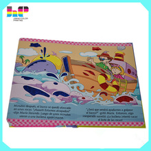 a3/a4/a5 offset paper hardcover book Printing thick hardcover children board book