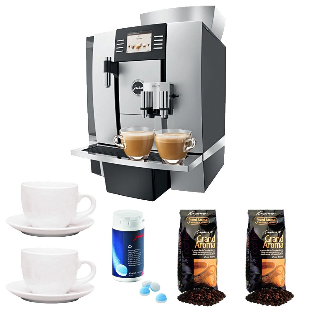 Jura GIGA W3 Proessional Automatic Coffee Machine w/Coffee Accessory Bundle