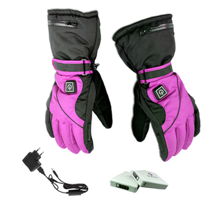 Men Winter Driving 7.4v Battery Heated Gloves for Fishing
