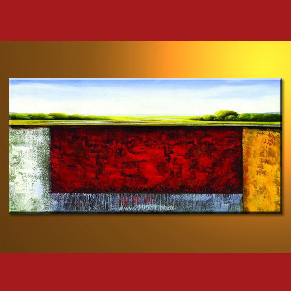 New Design Abstract Painting Hotel Artwork