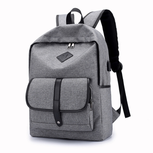 new design backpack with usb charger laptop backpack