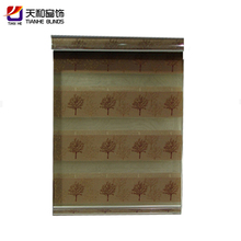 Latest roll up fabric mobile home honeycomb curtain